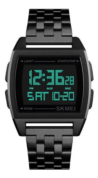 Skmei 1368 Reloj Unisex Estilo Vintage Acero Inoxidable