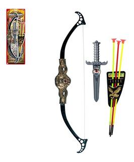 Arco E Flecha Com Espada - Art Brink