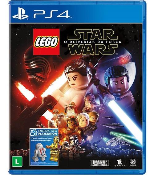 Lego Star Wars O Despertar Da Força (mídia Física) Ps4 Novo