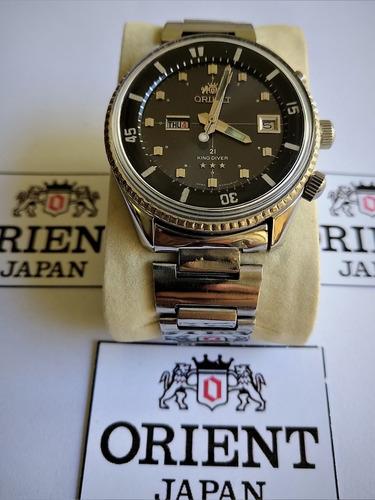 Orient King Diver Kd Jumbo Coleção Raro Caliber 1942 Restaur