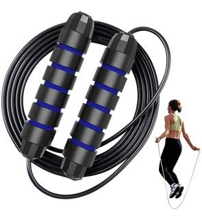 Cuerda Para Saltar Cardio Crossfit Deporte Velocidad / Lhua