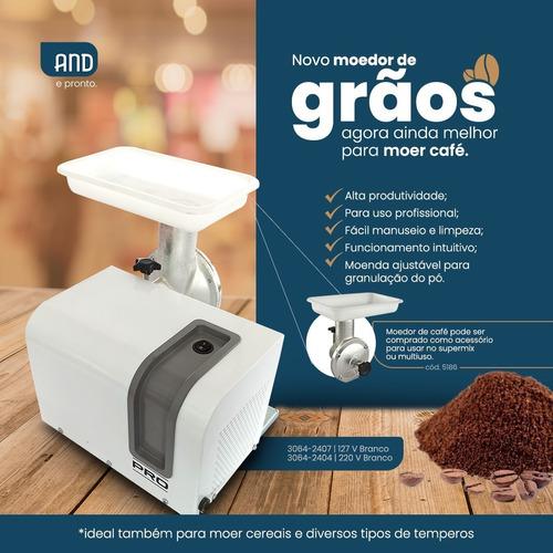 Moedor De Cafe Eletrico Malte 40kg/h 380w Mono 220v