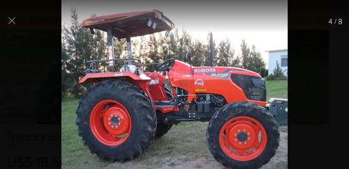 Kubota Mu 5501  4x4 Nuevos!