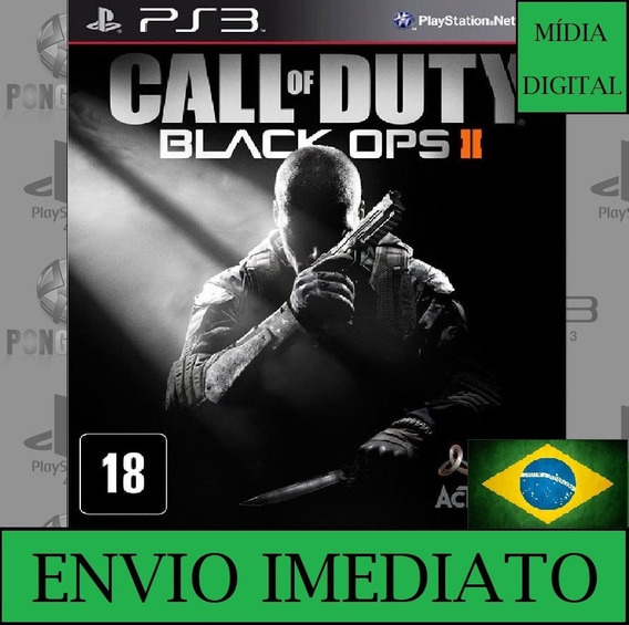 Call Of Duty Black Ops 2 Ps3 Portugues Psn Envio Imediato