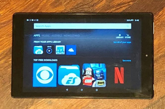Amazon Kindle Fire 10 Super Novo Frete Gratis