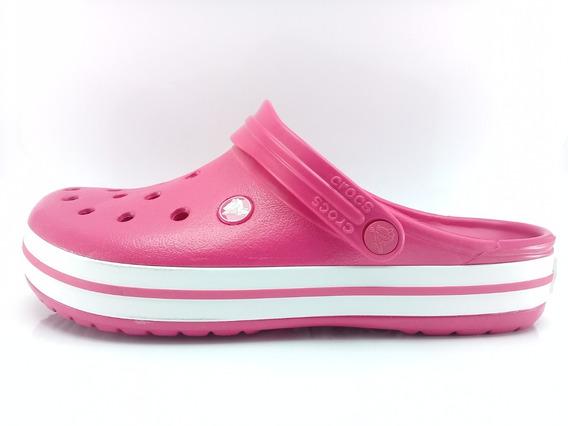 Crocs Crocband Originales Rsa/bco Sport Town Envios Caba Y Bs As