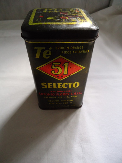 Lata De Te 51 Antigua.