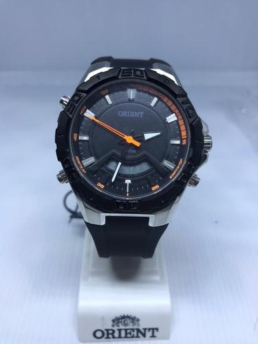 Relógio Orient  Masculino Prata E Preto  Mbspa030 P1px