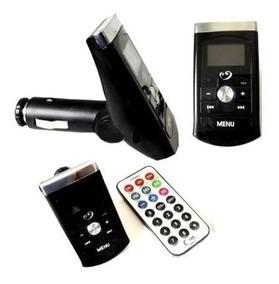 Transmissor Fm Veicular Usb Pendrive iPod Mp3 Car Transmiter