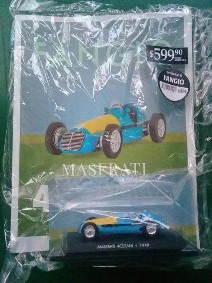 Colección Fangio Número 15 Maserati 4 Clt/ 48 1949 La Nación