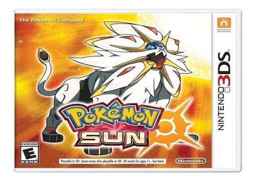 Pokemon Sun Juego 3ds