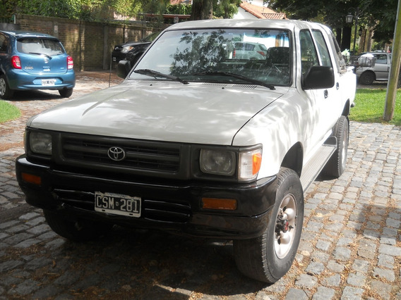Toyota Hilux Doble Cabina 4x4 Dlx Diesel