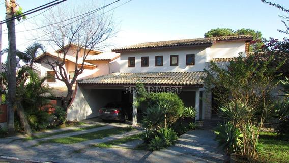 Ótima Casa, Estilo Clássico Em Condomínio Na Granja Viana!!! N - Ca16948