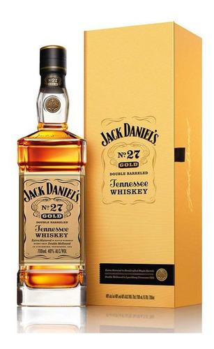 Imagen 1 de 9 de Whisky Jack Daniels Gold Nro 27 700ml En Estuche