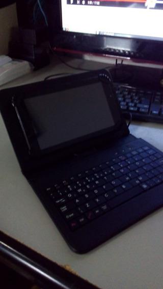 Tablet Multilaser M7s Plus Com Teclado E Capa Protetora