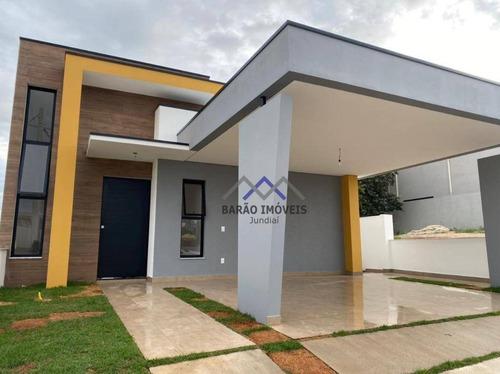 Imagem 1 de 29 de Casa À Venda, 158 M² Por R$ 750.000,00 - Condomínio Phytus - Itupeva/sp - Ca1183