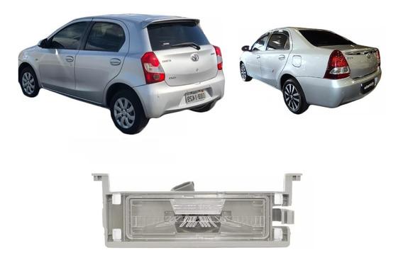 Lanterna De Placa Toyota Etios Sedan Hatch Com Soquete