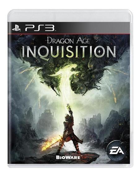 Dragon Age Inquisition Ps3 Mídia Física Pronta Entrega