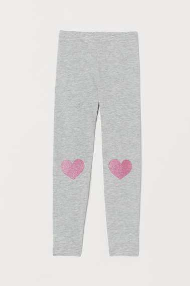 Pantalon Calza Leggins Algodon Nena H&m Nueva C/etiqueta Im