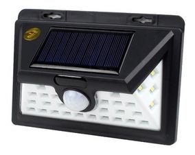 Luminaria Led Sensor De Presença Energia Solar 32 Leds