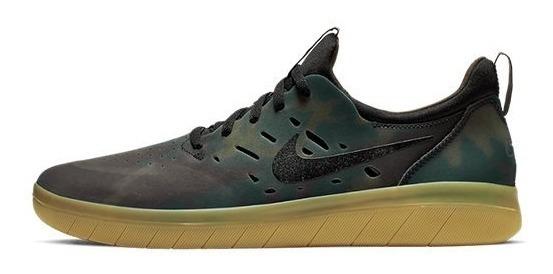 Tênis Nike Sb Nyjah Free Prm 11585 Original
