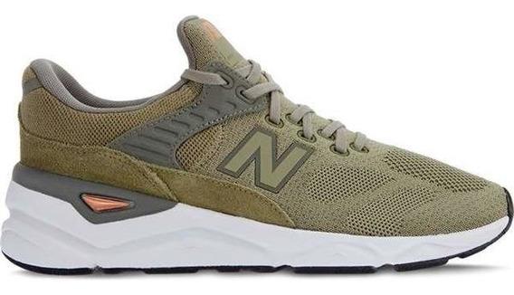 Tenis New Balance X90 Verde Musgo, Original + Nota Fiscal