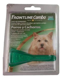 Pipetas Frontline Para Perros Adulto Y Cachorro Hasta 10 Kg