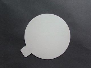 Disco Ppm Blanco Mate D. 9 Cm Con Pestaña (x200u) - 107