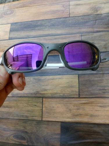 3a2c02fe4 Oculos Oakley Double Xx Roxa + Kit Borrachinhas + Teste · Óculos Oakley  Juliet Lente Roxa Borrachinha Branca Top