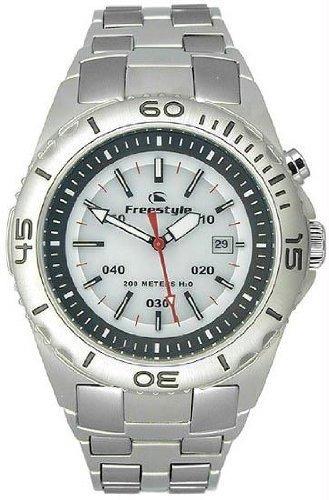 Relógio Fs81211 Analogico Submersion (200 M) White Freestyl