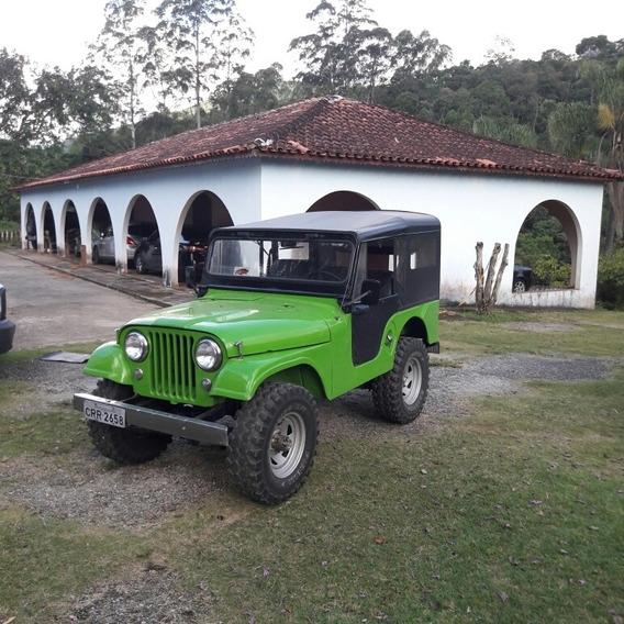 Jeep Wyllis Terceiro Dono Otimo Estado