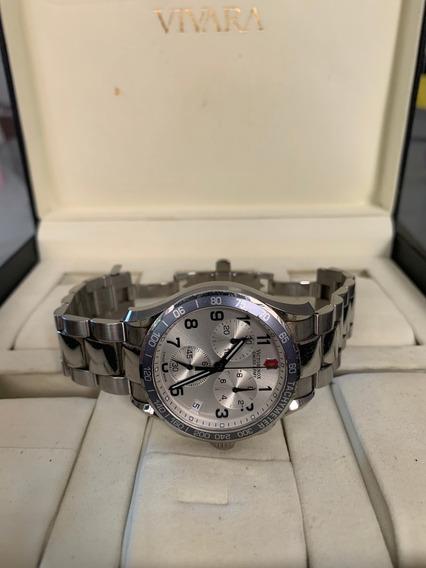 Relógio Victorinox Chrono Classic V251121 + Caixa Vivara