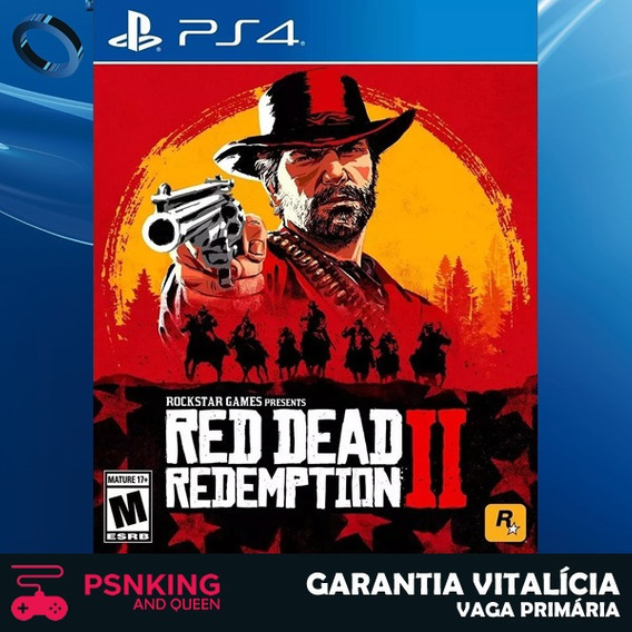 Red Dead Redemption 2 - Ps4 1 - Mídia Digital