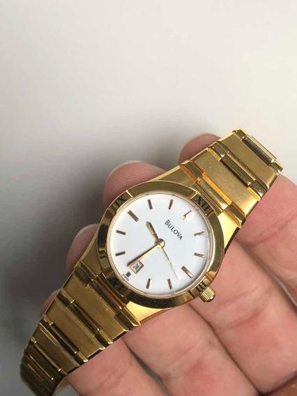 Relógio Bulova Dourado Wb29929h