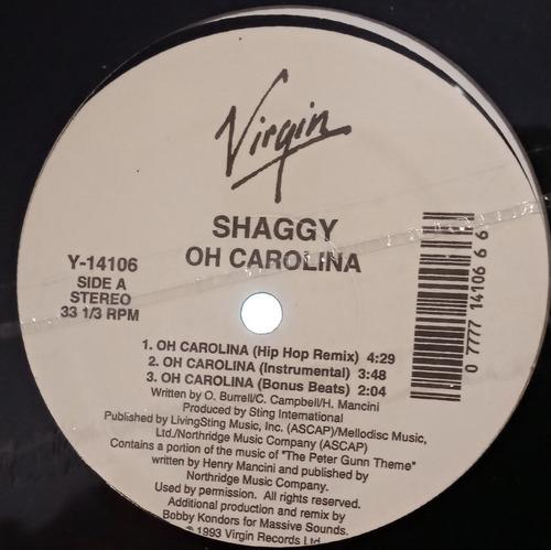 Shaggy - Oh Carolina (12  Sellado De Época)