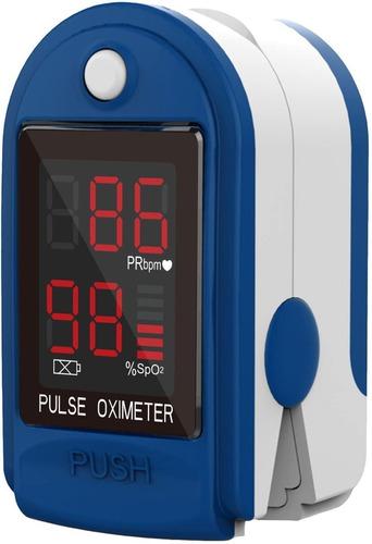 Imagen 1 de 6 de Oximetro De Pulso Medico Medidor De Oxigeno Saturador