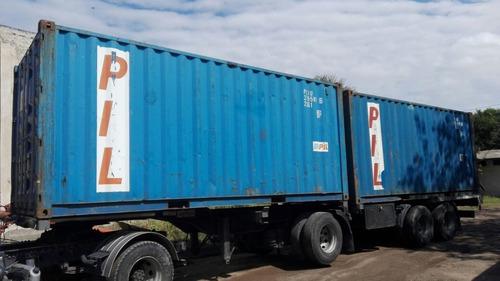 Contenedores Marítimos Container 20' Standard Nacionalizado