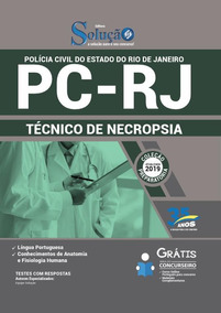 Apostila Concurso Pcrj 2018 Técnico De Necropsia