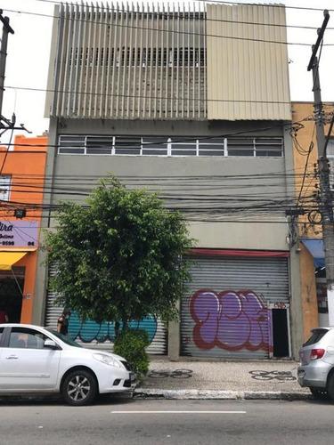 Imagem 1 de 13 de 970- Prédio Comercial Localizado No Bairro De Cambuci 1057m²