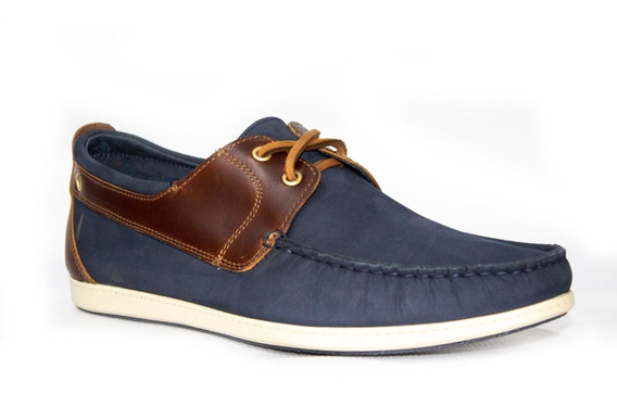 Zapatos Aretina 4291 Azul Casuales Para Caballero