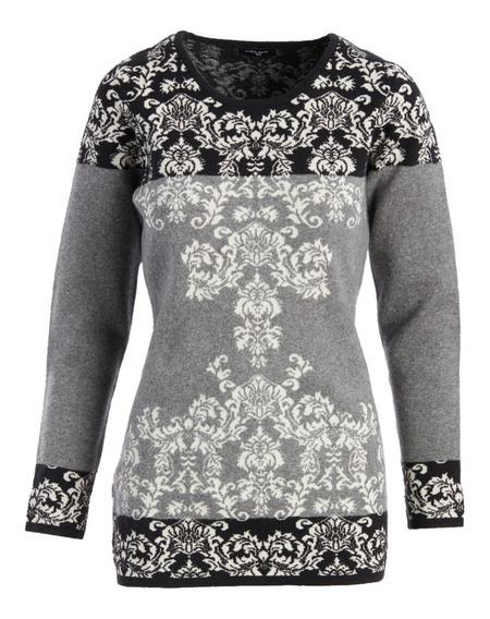 Sweter Talla M, Nuevo Con Etiqueta, 5% Lana, Calientito