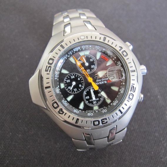 Relógio Citizen Aqualand Titanium #bj2060-58e Masc Usado