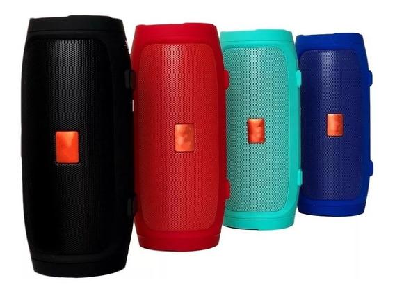 Caixa De Som Charge 3 Mini + Bluetooth Potente + Brinde