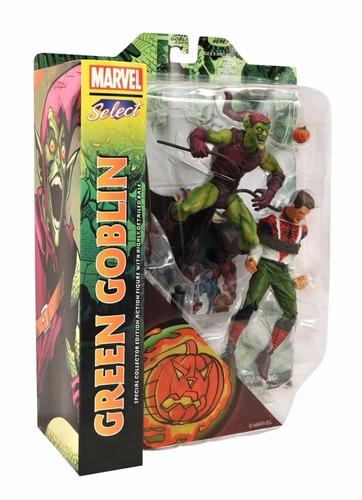 Imagem 1 de 3 de Marvel Select Green Goblin & Spider-man !