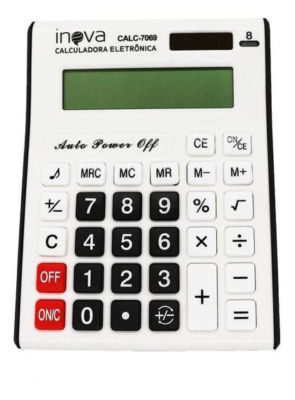 Calculadora Cálculos Básicos Financeira Calc7069