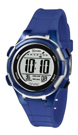 Relógio X-games Feminino Digital Azul 33825