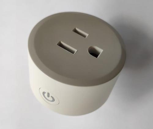 Imagen 1 de 5 de Smart Plug Wi Fi 2.4 Ghz Enchufe Inteligente Alexa Y Google