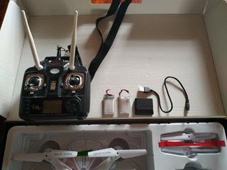 Drone Syma X5c Con Mejoras Y Accesorios