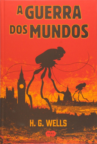 A Guerra Dos Mundos - H. G. Wells. (capa Dura)