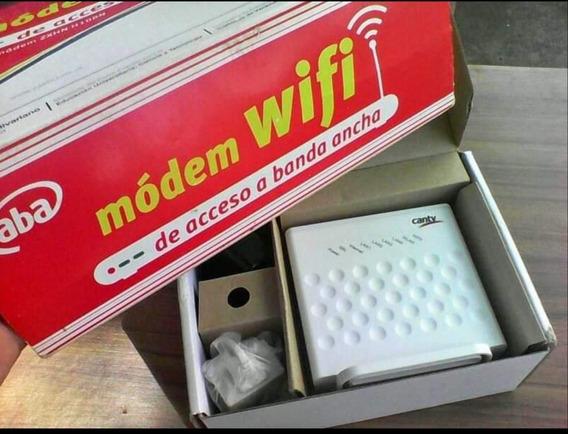 Modem Router 2en1 Adsl2+ Wifi Para Aba De Cantv